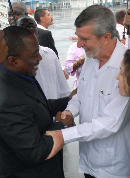 Kabila conversará con Raúl durante visita a La Habana