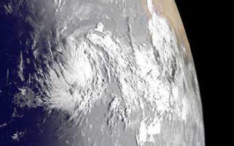 Katia carga vientos máximos de 120 kilómetros por hora, y se estima que pasará al norte de Puerto Rico. Foto: NASA