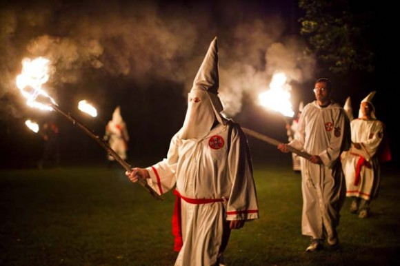 El movimiento del Ku Klux Klan resurge en EEUU. Foto: EFE