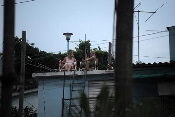 La Ceiba y Cantarrana, en Puentes Grandes. Foto: Silvio Rodríguez