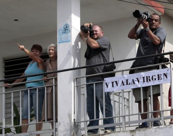 Cuba: concluye en occidente recorrido de la Virgen de la Caridad en Madruga. Foto: Ismael Francisco