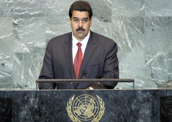 Nicolás Maduro en ONU