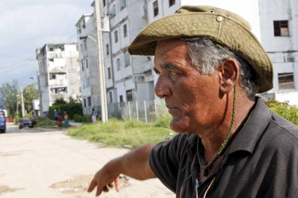 Luis Santander, promotor cultural de Cojímar