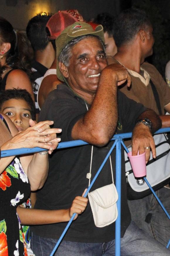Luis en el concierto. Foto: Jorge Ramírez