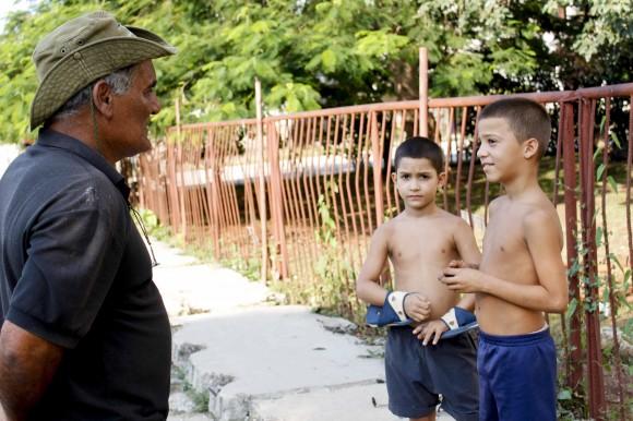 Los niños y las niñas conforman uno de los públicos que más atención le merecen. Foto: Jorge Ramírez
