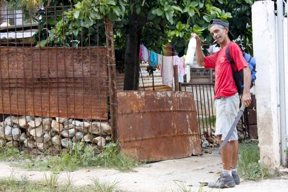 Vecino. Foto: Jorge Ramírez