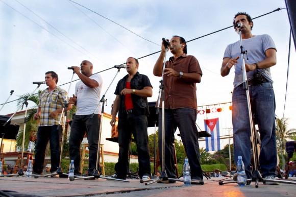 Vocal Samplin, invitados. Foto: Jorge Ramírez
