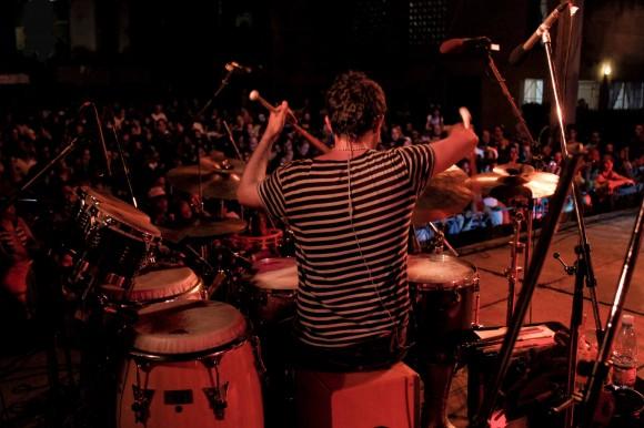 Percusión. Foto: Jorge Ramírez