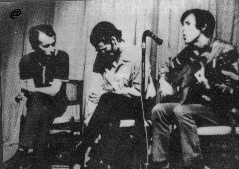 Silvio, Vicente y Noel Nicola.