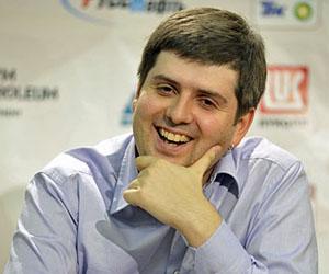 Svidler, el gordito más feliz del ajedrez