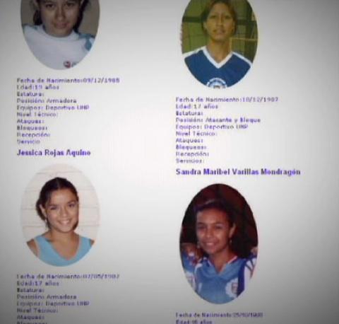 Integrantes del equipo de voleibol de Perú en la lista de Elizardo Sánchez.