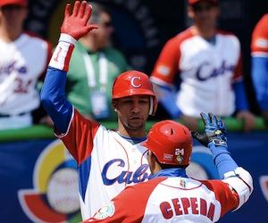 Cuba venció a República Dominicana en mundial beisbolero