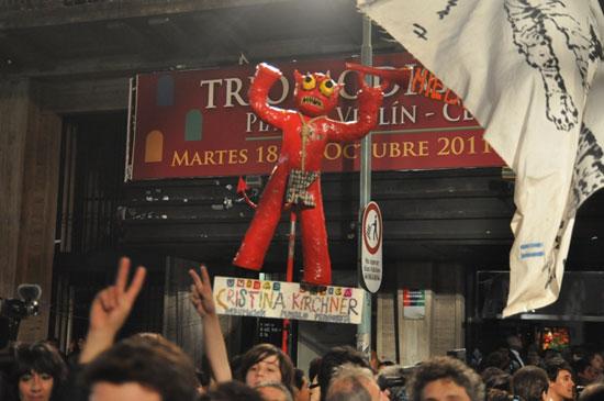 Con el 55 por ciento de los votos Cristina Fernández es reelecta en Argentina. Foto: Kaloian