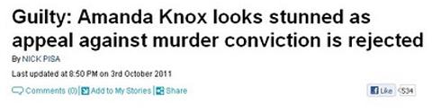El titular de la noticia falsa