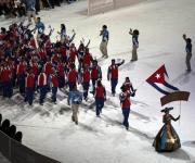 Inauguración Juegos Panamericanos. Foto: Ismael Francisco