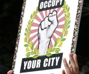 Occupy Tokio. Foto: AP