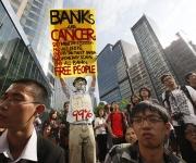 Occupy Hong Kong. Foto: AP