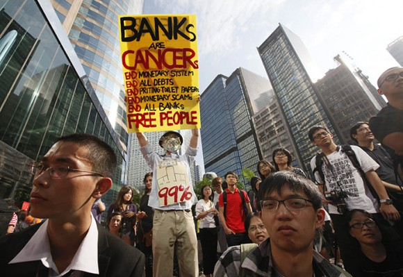 Occupy Hong Kong. Foto: AP