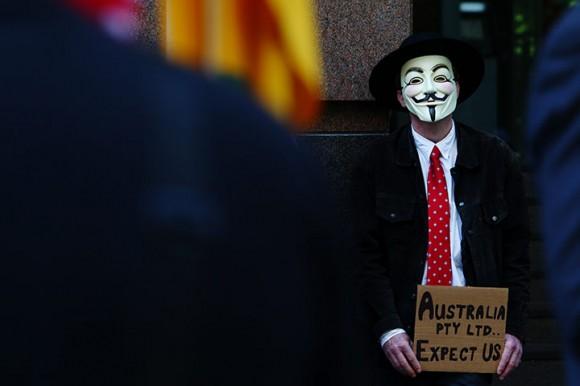 Occupy Sydney. Foto: AFP