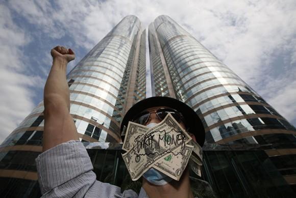 Ocupam Hong Kong.  Foto: AP