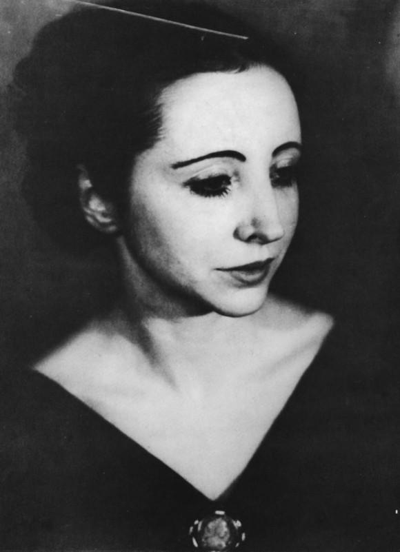 Anais Nin en 1934.