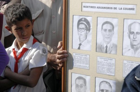 Mártires del atentado de la CIA contra la Coubre.