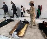 Gadafi enterrado en secreto en el desierto libio