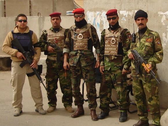 Chilenos mercenarios en Iraq