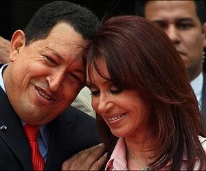 Chávez felicita a Cristina Fernández por nacionalización petrolera