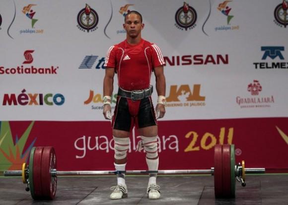 Sergio Álvarez se convirtió enTricampeón Panamericano en las pesas. Foto: Ismael Francisco