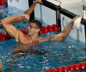 El nadador cubano Hanser García. Foto tomada de Cubadebate.