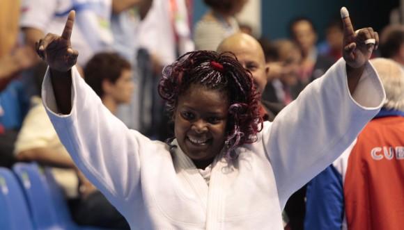 La campeona panamericana de judo Idalis Ortiz. Foto: Ismael Francisco
