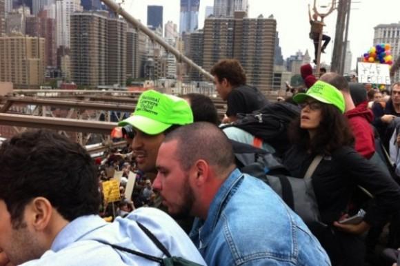 Toma del Puente de Brooklyn en Nueva York