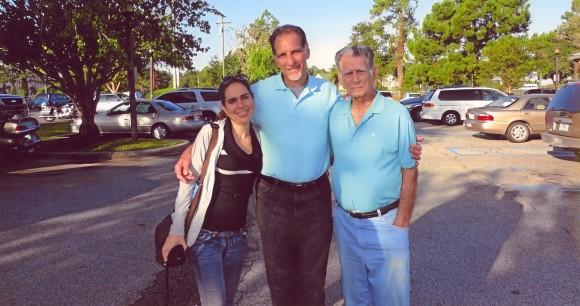 Irmita, René y Candido. Cortesía de la familia.