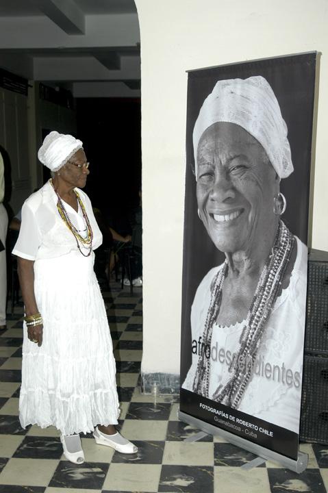 Presentación de la exposición Afrodescendientes en Guanabacoa. Foto: Marco Alfonso