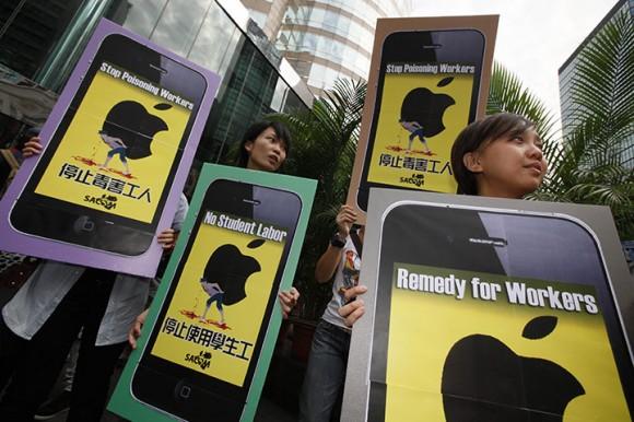 Occupy Hong Kong. Foto: AFP