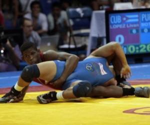 El cubano Liván López ganó hoy medalla de bronce en la división de los 66 kilogramos en el torneo de lucha libre de los XXX Juegos Olímpicos de Londres.