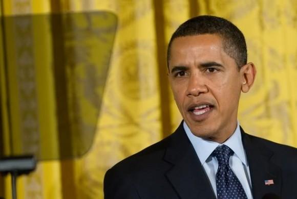 Obama y su teleprompter