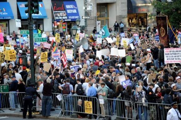 Occupy Wall Street llega a Washington. Foto: The Washington Post
