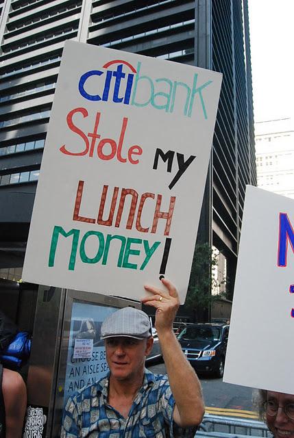 Occupy Wall Street en Nueva York. Foto: Víctor Casaus