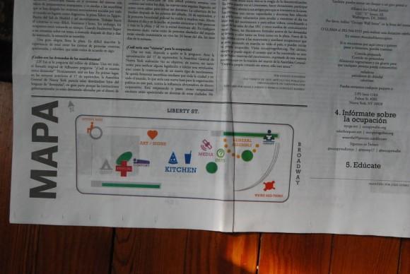 El mapa. Foto: Víctor Casaus