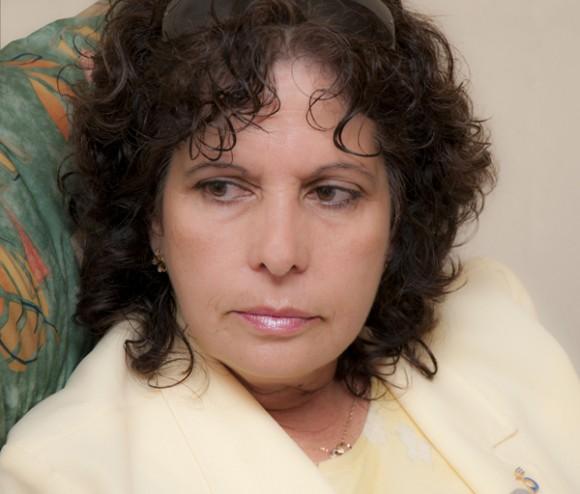 Olga Salanueva. Foto: Raquel Pérez/ Cortesia para Cubadebate