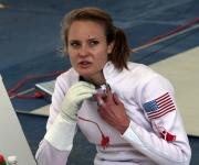 Atleta de EEUU en el Pentatlón moderno. Foto: Ismael Francisco