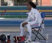 Pentatlón moderno. La cubana Laura Moya. Foto: Ismael Francisco