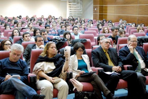 Presentación en la Complutense. Foto: Embajada de Venezuela en España