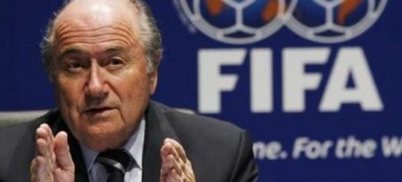 Blatter, presidente de la FIFA. Foto: Archivo