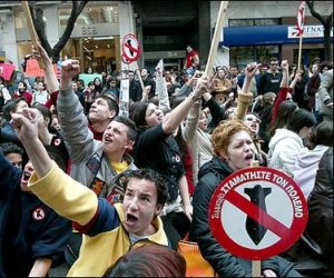 Las protestas en Grecia acumulan varios meses. Imagen de archivo.