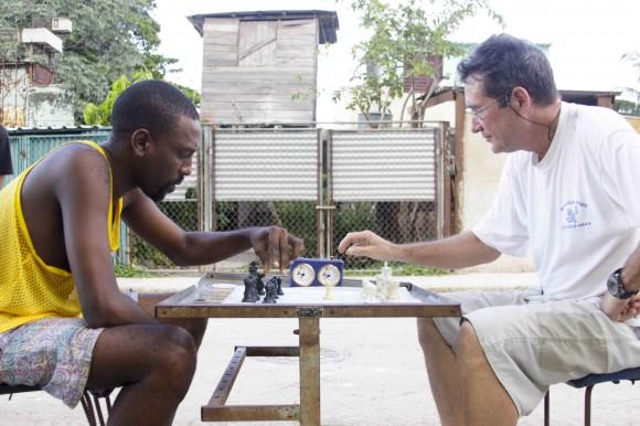 Cuando no se juega dominó. Foto: Silvio Alejandro