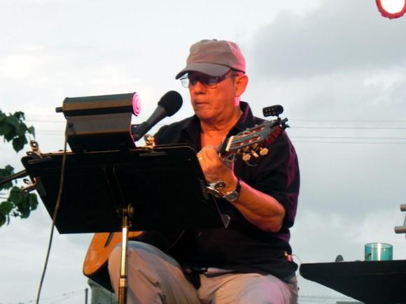 Silvio en concierto. Foto: Marianela Dufflar