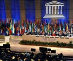 Vista de la Conferencia General de la UNESCO, reunida este lunes en París (AFP, Miguel Medina)